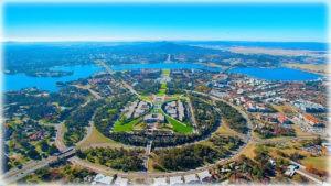 Канберра - «лесная столица»