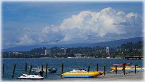 пляжи города Сухум