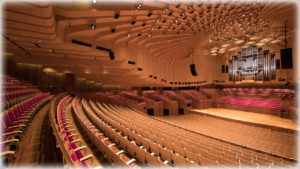 Залы Сиднейского оперного театра