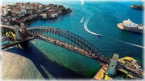 Мост Харбор-Бридж в Австралии
