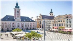 город Санкт-Пёльтен (Sankt Pölten) - .Австрия