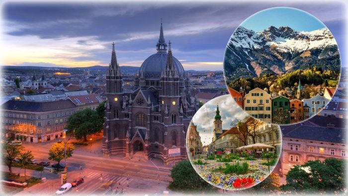 Крупнейшие города Австрии