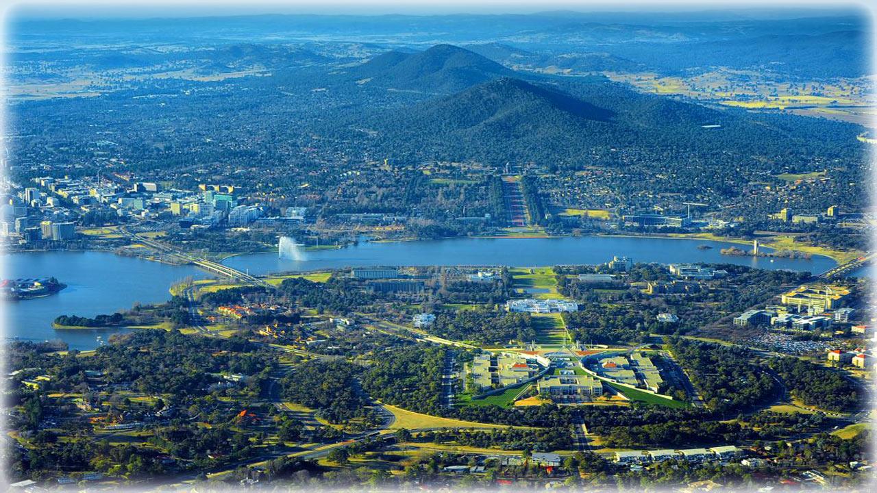 Столица Австралии - город Канберра