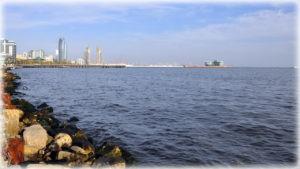 Морской город Баку