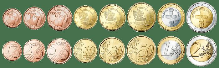 валюта Австрии - монеты