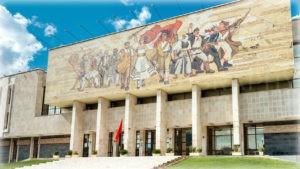 Тирана -Национальный исторический музей