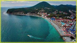 пляжный отдых в Ольгинке