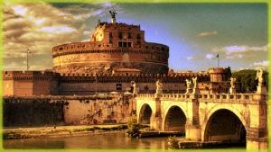 римский замокСант-Анджело