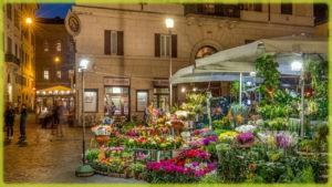 Кампо-деи-Фиори - Рим (Италия)