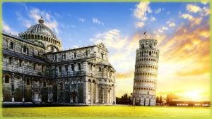 Пизанской башни - Пиза (Италия)