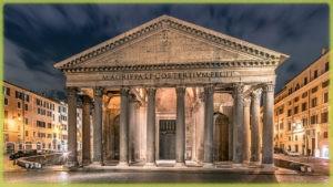 храм Пантеон - Рим (Италия)