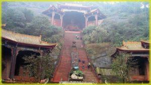 Знаменитый храм Шаолинь