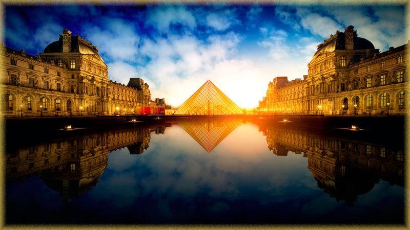 Париж - город на берегах Сены