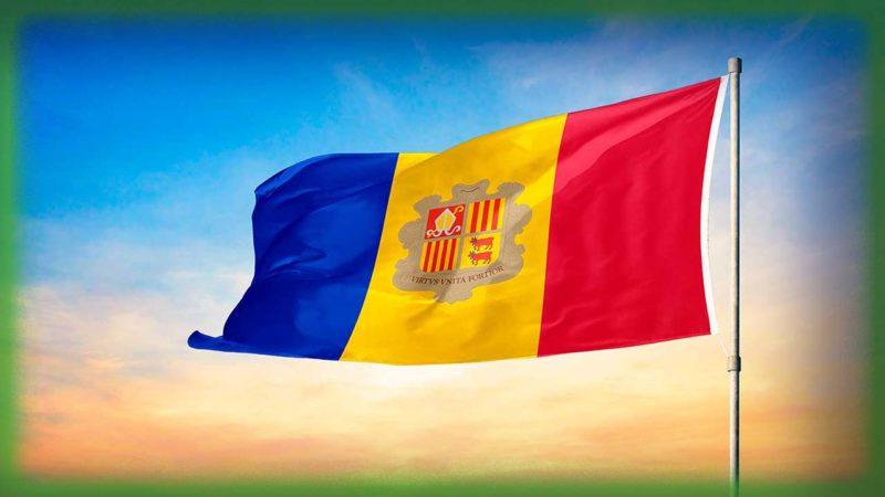 Флаг Княжества Андорра
